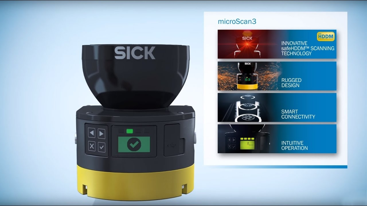 microScan3 - The new generation of safety laser scanners from SICK | SICK AG