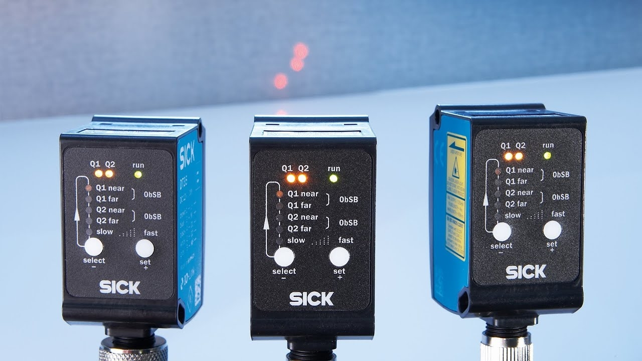 Explanation of switching modes of SICK's distance sensors | SICK AG