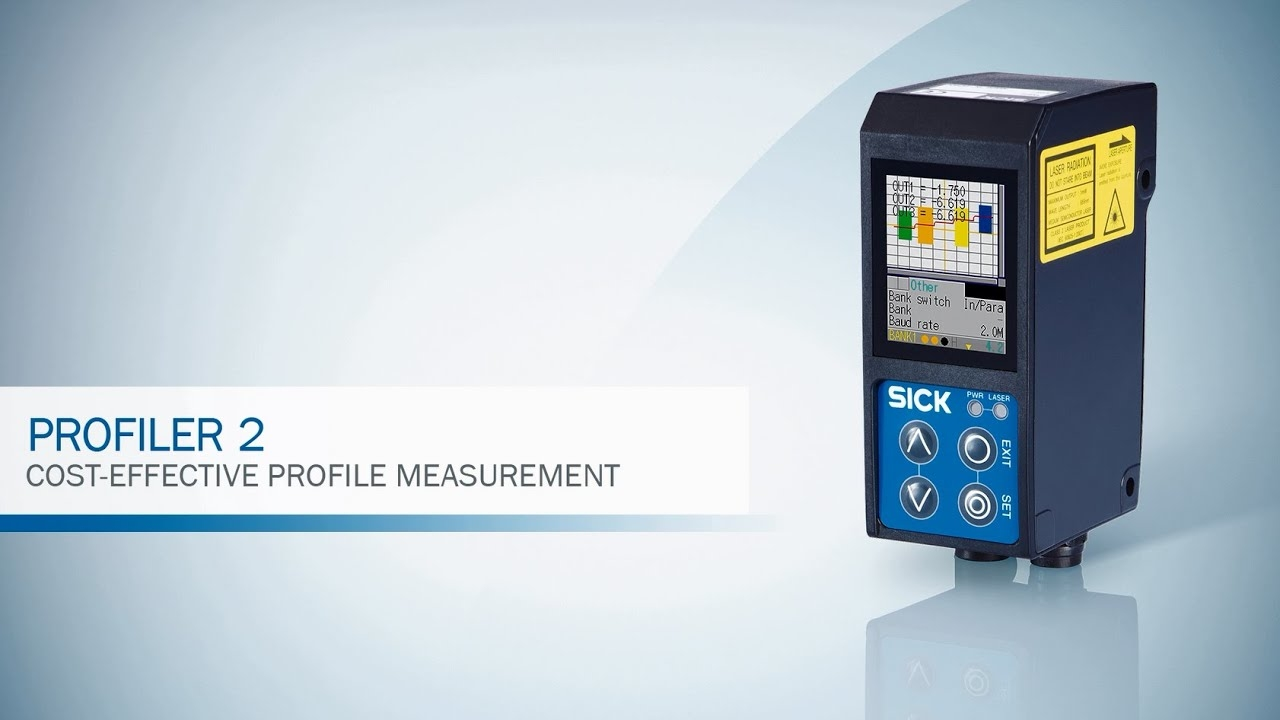 Profiler™ 2 from SICK - excellent visualization for precise measurement | SICK AG