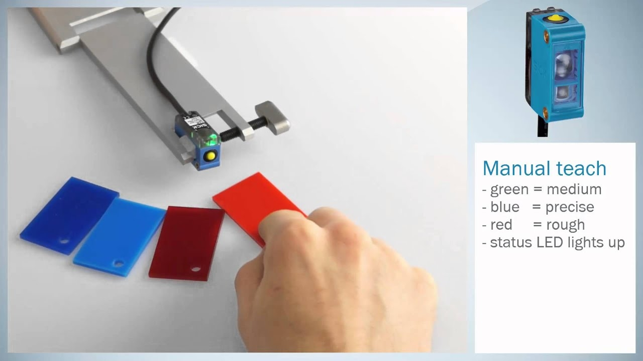 Tutorial: Set-up and operation of the CSM color sensor from SICK | SICK AG